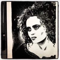 Inktober 2017 #23 - Mrs. Lovett by B3NN3TT