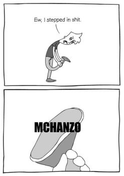 Eww, i stepped in shit: McHanzo by VinceOnAStick