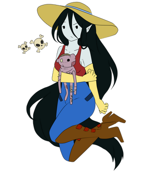 Marceline and Hambo by SrtaSad