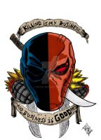 Killing Is My Business colored by nic011