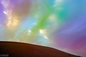 colorful dust by 7amad