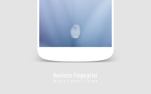 Realistic Fingerprint WidgetLocker Theme by FFra