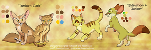 Fennec Fox + Sand Cat Adopt Pairs [CLOSED] by Nala15