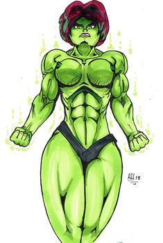 The Savage Hulk-Girl Carrie! by AmateurUnleaded