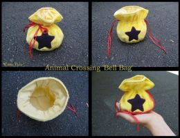 Animal Crossing Bell Bag Purse by Lithe-Fider