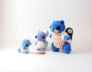 Squirtle Family by altearithe