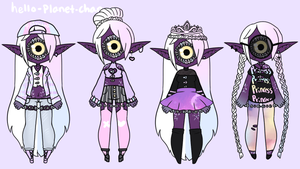 [outfit Set] - Cthonicsquid [2/4] by hello-planet-chan