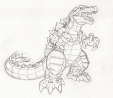 Croczilla by Nash-The-Mutt