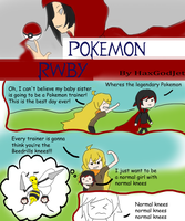 Pokemon Rwby 2 Bees Knees by HaxGodJet