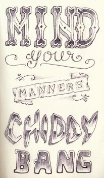 Mind Your Manners by Orangeyyy