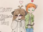Happy Valentines Day~ X3 by ShadAmyfangirl129