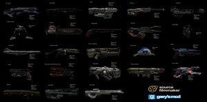 [DL] DOOM Weapons (Ragdolls) by Stefano96