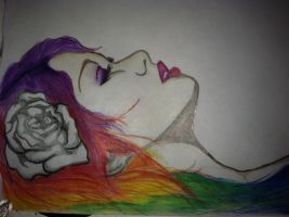 Sleeping Rainbow? by xXXxNightShadexXXx
