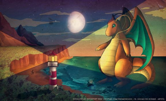 Dragonite by SoyUnGnomo