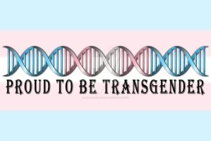 Transgender Pride DNA by lovemystarfire