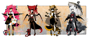 [CLOSED]AUTUMN THEME ADOPT 267- Blindlace by Piffi-sisters