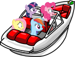 Ponies in the Hydro Hopper by MrDankEngine