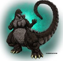 Godzilla Junior Commission by KaijuKid