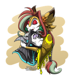 An elderly couple by Comic-Ray