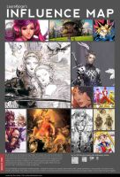 Influence Map by LauraKjoge