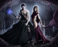 Hades and Persephone by Whendell