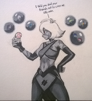 Inktober Sketch Day 3: Collect by TheGraffitiSoul