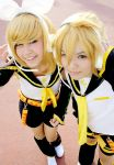VOCALOID Rin and Len Kagamine by Shicos