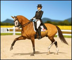 *Save GutCaballo Event - Quentin Dressage Entry* by NimbyNimb