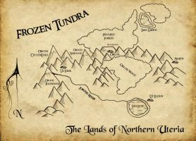 Lands of the Aedric Chronicles by mbielaczyc