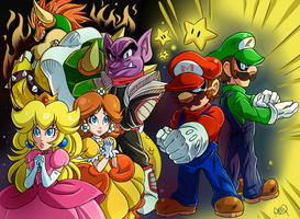 Super Mario Luigi RPG by CheekySoup4U