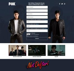 Note Book TV Series by FOX TV by mustafatoker