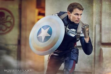 Cosplay: Stealth Suit from Captain America: Winter by Ken-Eden