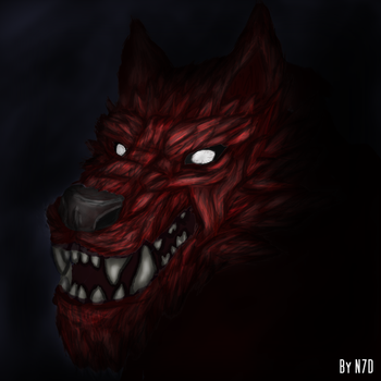 Crimson WoLF by Never7Dice