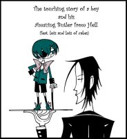 A Boy and His Butler by eeza