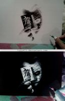 Joker - Negative drawing by lyyy971