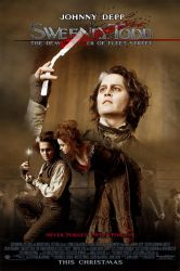Sweeney Todd Movie Poster 1 by zoozee