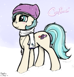Coco in Winter Attire by MagicalHoney