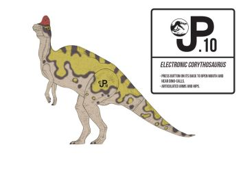 Jurassic Park III Corythosaurus Action Figure by March90