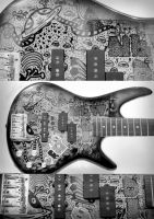 the guitar by CoKolate