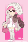 Splatoon OC: Aiko by StarkindlerStudio
