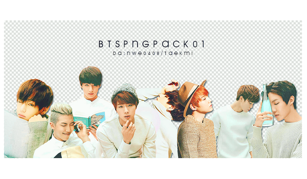 01 / BTS PNG PACK 01 by NWE0408