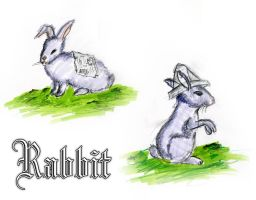 Rabbit by ZeBlackCat