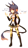 OCs -- Silyn Outfit by onisuu