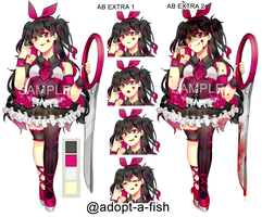 [CLOSED]Punk Rock Corrupted Magical Girl by Adopt-A-Fish