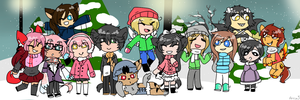 Holiday with Friends by Amusie0