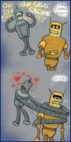 Bender n Calc for Crys n Madde by MissusPatches
