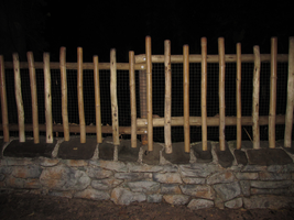 A Spooky Fence IMG 2824 by TheStockWarehouse