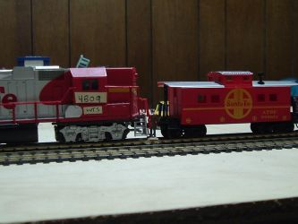 Woodstock and Southern GP38M-2 #4809 by Tracksidegorilla1