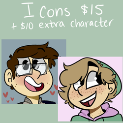 Icon Commissions by Braang