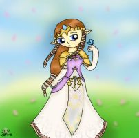 Contest Prize, Hyrule's queen by Jrynkows